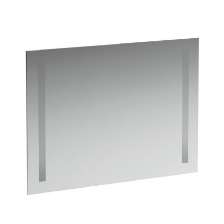 447236 - Laufen Case 800mm x 620mm Mirror with Vertical Lighting & Sensor Switch - 4.4723.6